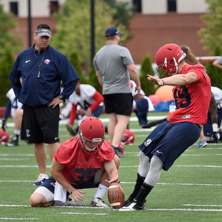 Photos – Football practice 8/7/15