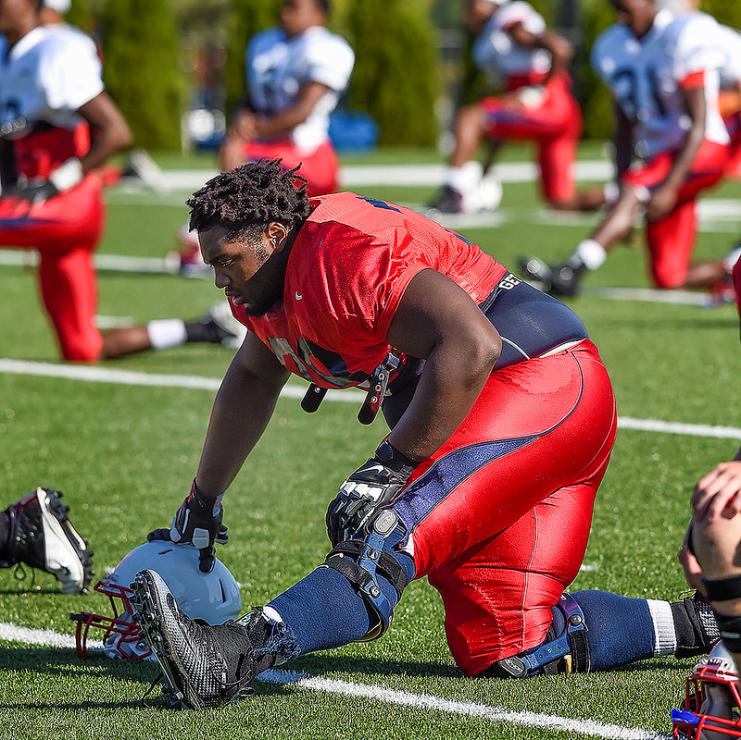 Photos – Football practice 8/12/15
