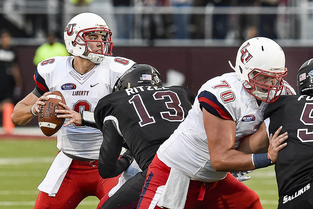 Former Liberty QB Josh Woodrum Signs with the Washington Redskins