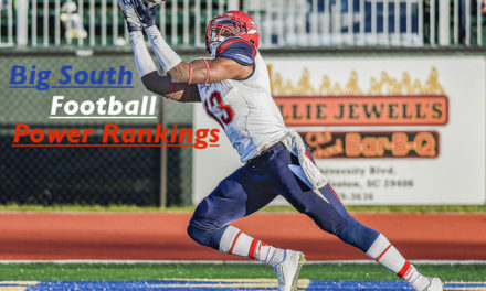 Big South Football Power Rankings – Week 1