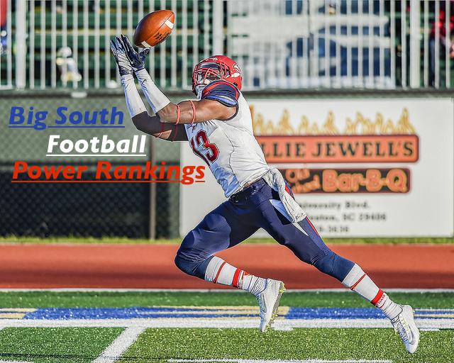 Big South Football Power Rankings – Week 5