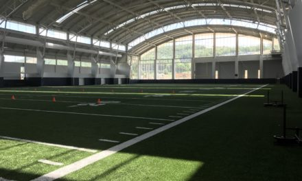 Sneak Peek of Indoor Practice Facility