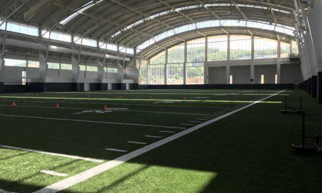 Sneak Peek of Indoor Practice Facility