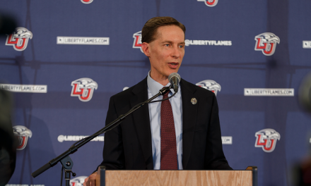 Liberty AD McCaw Prepared for return to Waco