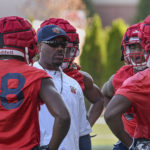 Flames Start Spring Practice Earlier Than Usual