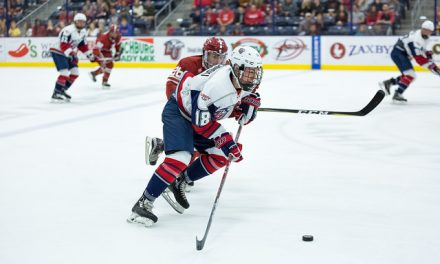 Hockey Locks Down Weekend Shutout of Rutgers