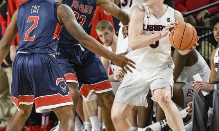 Flames win 3rd straight, dispatch Bison