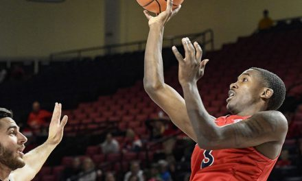 Jones' 3 at buzzer lifts Radford to Championship