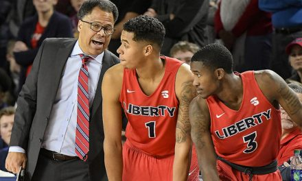 17-0 run propels Liberty to win over Longwood