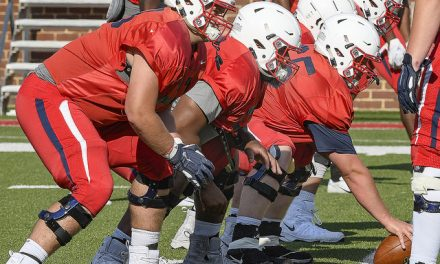 First day of camp concludes with two commits