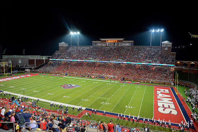 Could A Caa Team Fill Void On Liberty S Schedule A Sea Of Red