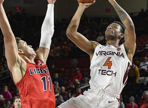 Liberty falls late to #15 Virginia Tech