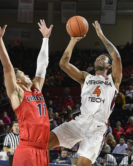 Liberty falls late to #15 Virginia Tech