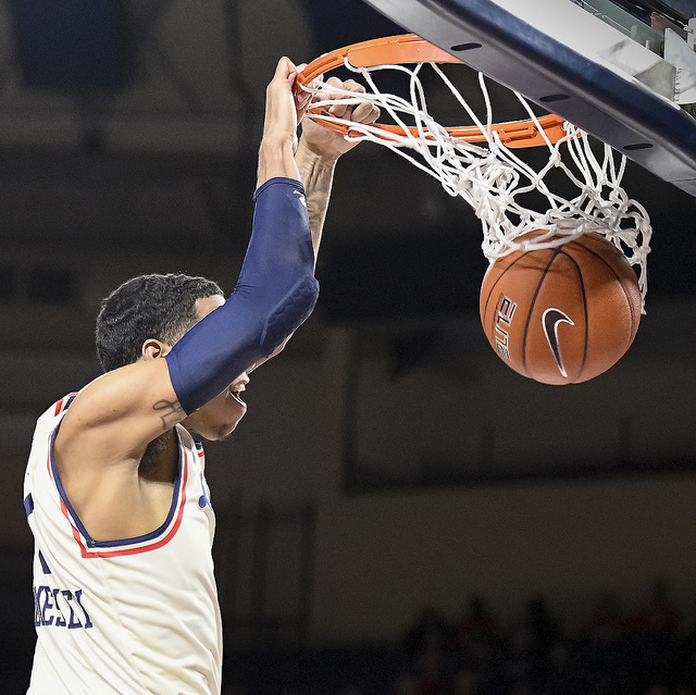 Liberty controls the game, upsets UCLA