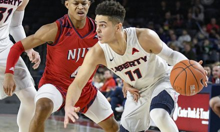 Liberty answers bell, controls game against NJIT