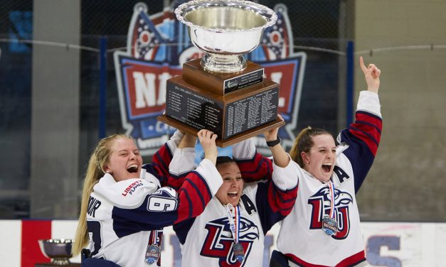 Head Coach Chris Lowes Steering Women's Ice Hockey's 3-Peat Hopes