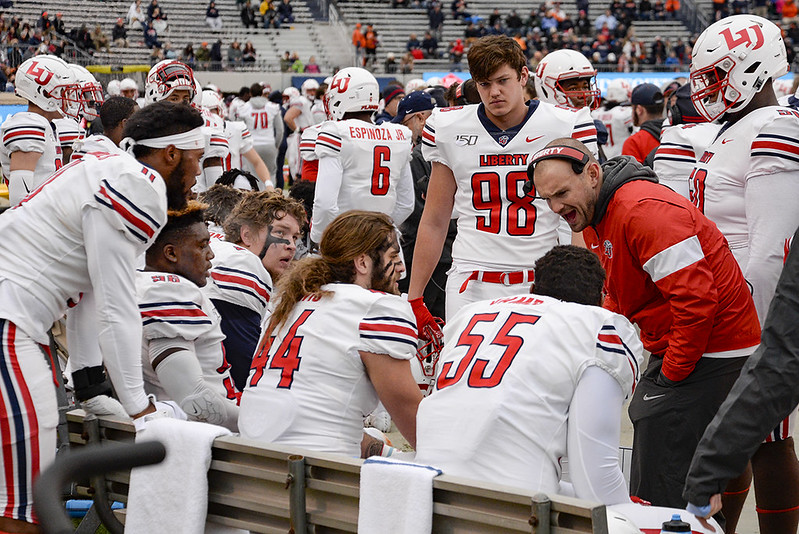 Liberty Close To Having Completed 2020 Football Schedule A Sea Of Red