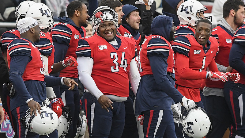 Liberty is one of 4 schools in the country that is playing in a bowl game and its MBB team is undefeated