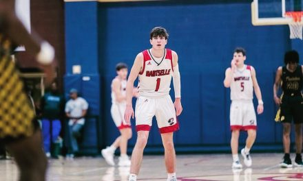 Liberty commit Brody Peebles AAU Highlights