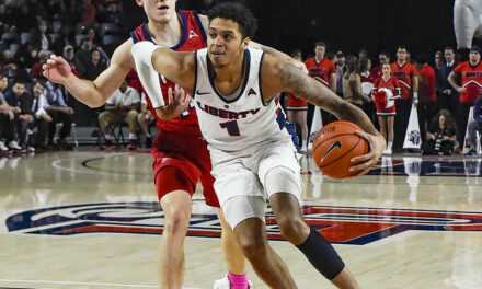 Liberty overcomes cold first half shooting, defeats NJIT