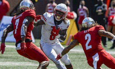 """LU redshirt-senior RB Joshua Mack about himself: """"Im knowin he's coming back"""""""