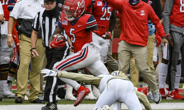 Liberty's Win Over FIU Had A Little More Meaning To Receiver, DJ Stubbs