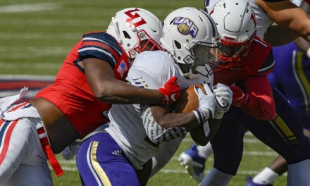 Liberty's defense leads the way in Flames 28-7 win over North Alabama