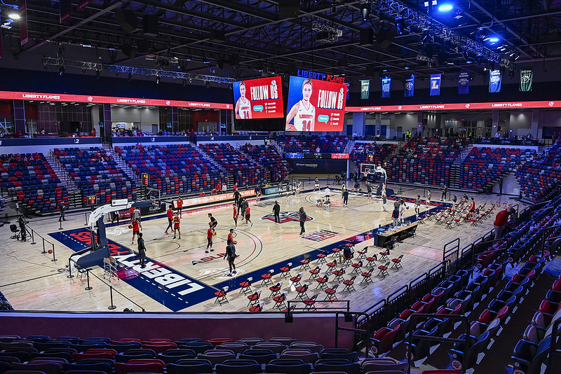 Liberty to host Delaware State at Liberty Arena in December