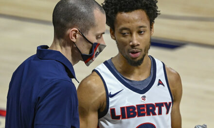 Liberty utilizes dominating first half run to overwhelm South Carolina State