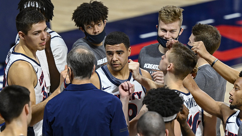 Liberty returns to bracket projections this week