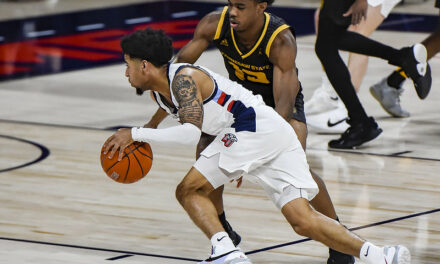Liberty MBB Notebook: Parker gets to tourney, 1-year anniversary, seed, Indy
