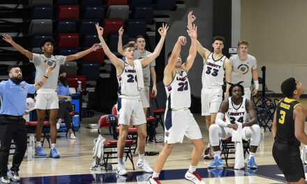 Liberty projected as 13-seed in updated Bracketology