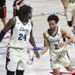 Liberty basketball unveils roster and updated jersey numbers for 2021-22