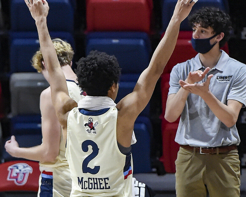 Liberty being projected to make NCAA Tournament in first Bracketology