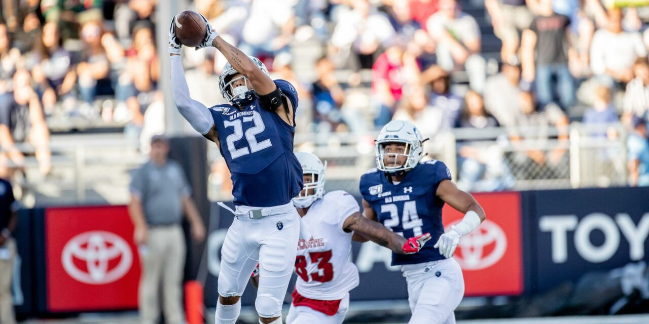 Liberty Offers Former Old Dominion CB Kaleb Ford-Dement