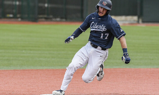 Win streak comes to an end, Liberty baseball finishes week with series win at Bellarmine
