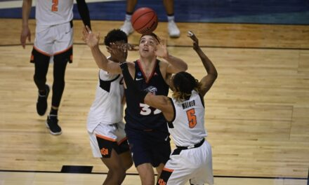 Liberty's season comes to an end with loss to Oklahoma State in NCAA Tournament First Round