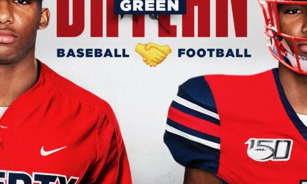 Not Just Liberty Football But Now Baseball Wants 2022 CB/CF Brylan Green