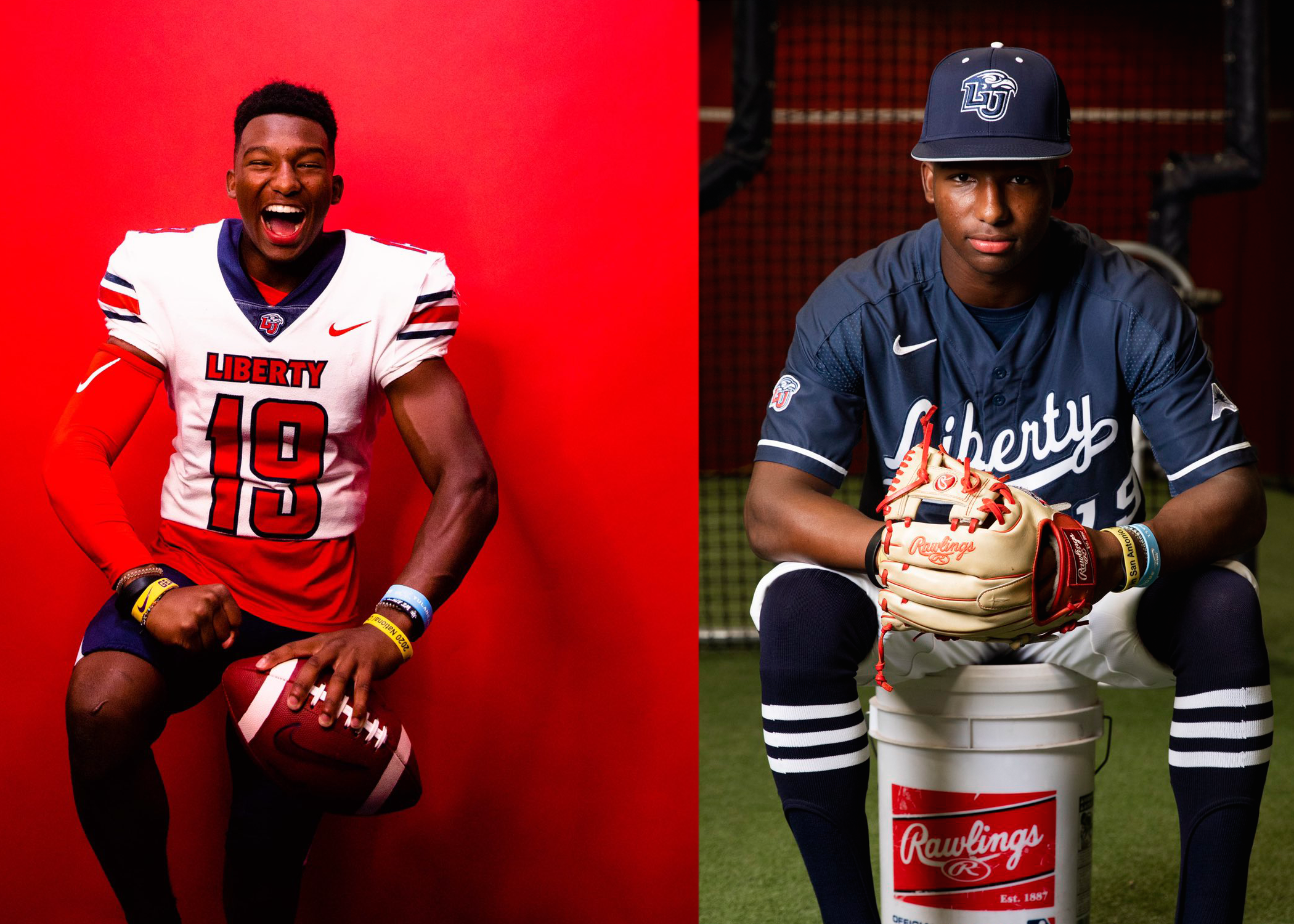 2022 3-Star DB and OF Brylan Green Commits To Liberty For Football and Baseball