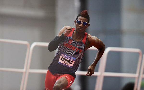 Liberty Alum Perlaza Zapata to compete in the Olympics