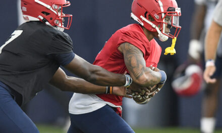 TJ Green another weapon added to a talented Liberty offense