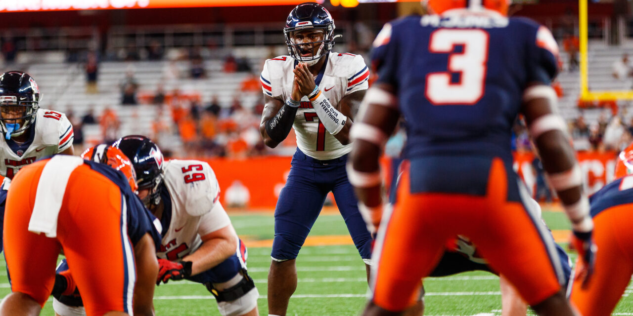 Liberty's late comeback attempt comes up short, falls at Syracuse, 24-21