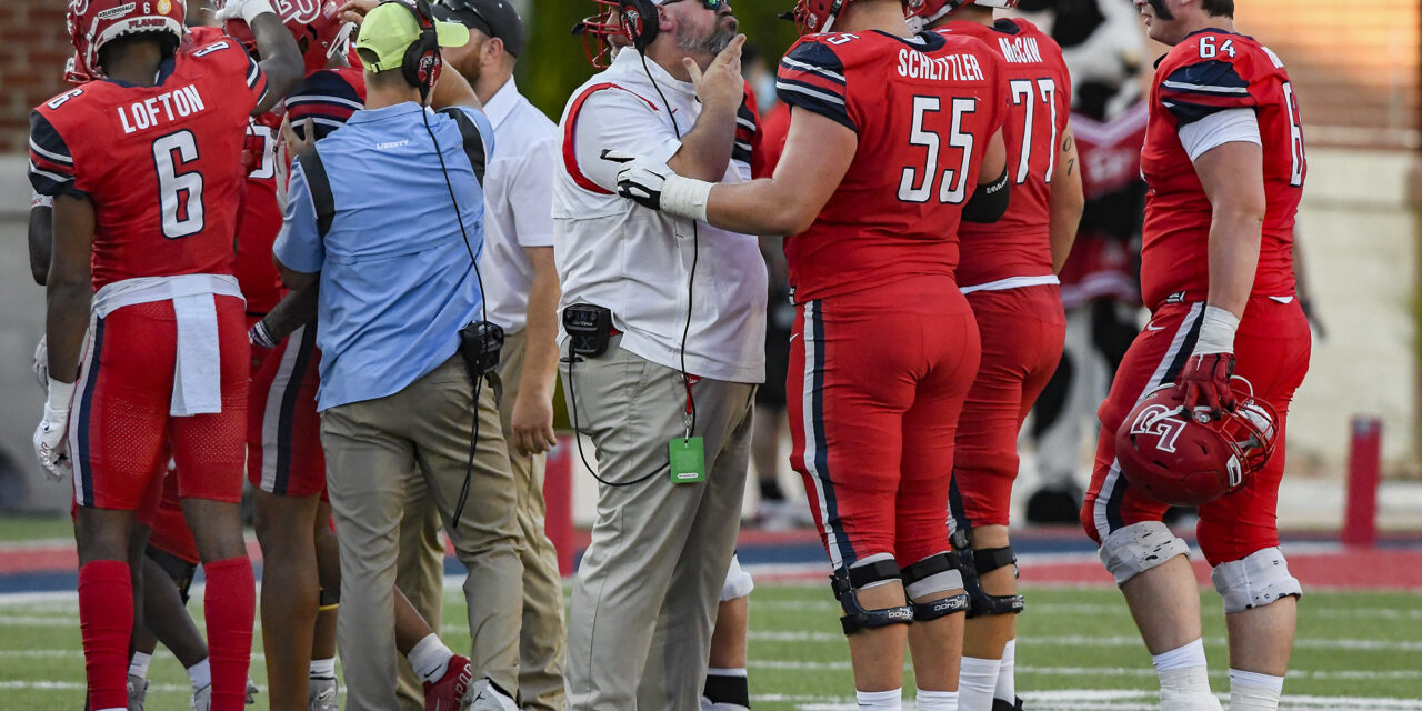 Liberty fighting through several injuries on Offensive Line
